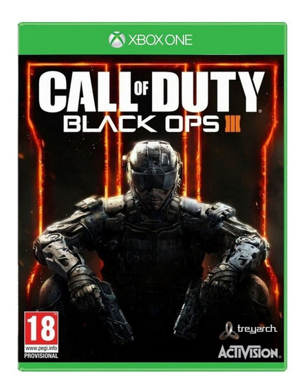 Jogo Call Of Duty Black Ops 3 Xbox One Usado