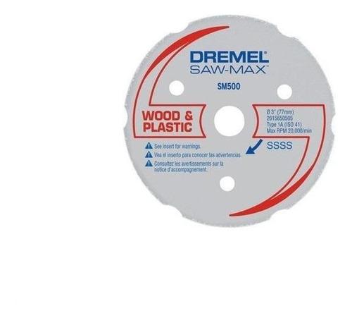 Disco Corte Multiusos Maderas/plasticos Dremel 2615s500aa