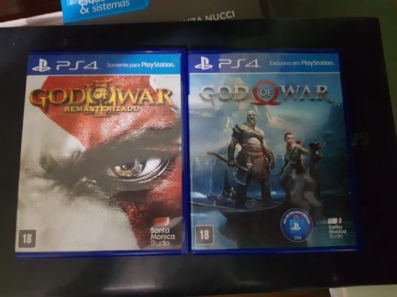Game God Of War + God Of War Iii Brinde - Ps4 - Frete Grátis