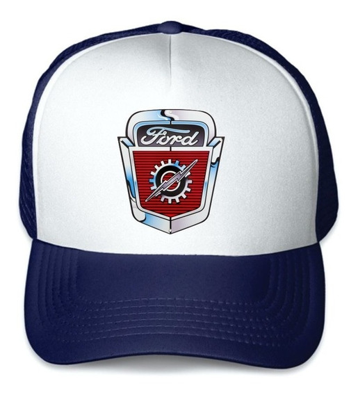 Gorra Trucker Ford Emblema Antiguo