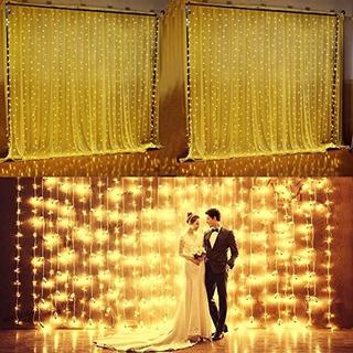 Agptek Safety Full Waterproof Decorative Curtains Lights