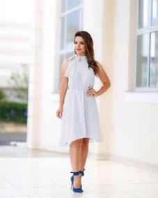 Moda Evangélica Vestido Lindo Soltinho Poá