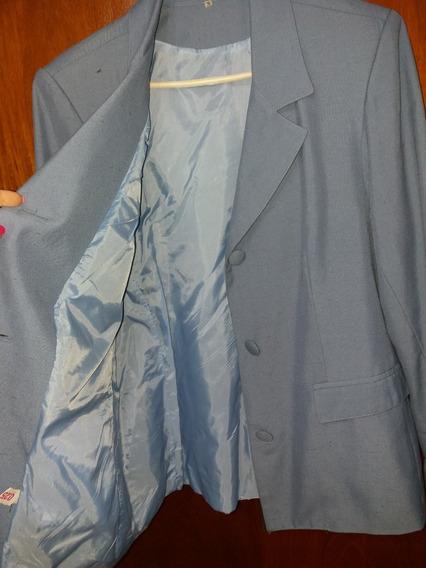 Traje De Mujer, Saco Y Pantalon, Polyester