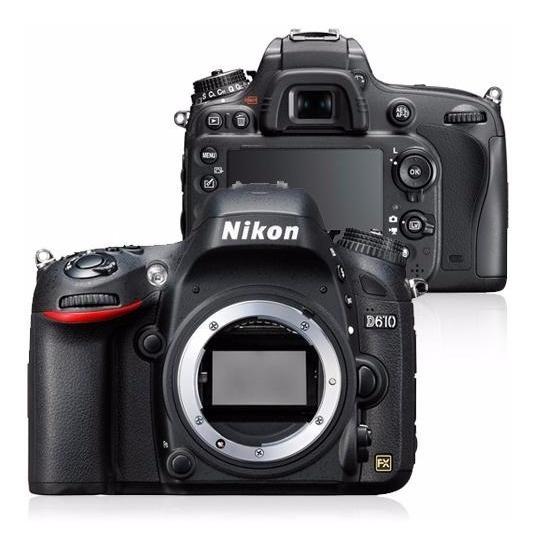 Câmera Nikon D610 (corpo) Dslr + Sd 32gb Classe 10