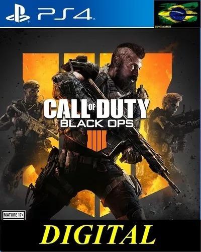 Call Of Duty: Black Iiii Ops 4 Ps4 1 Promoção Lançamento