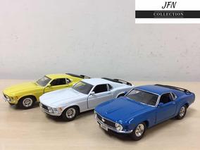 Miniatura Ford Mustang 1970 Em Metal ! Varias Cores !