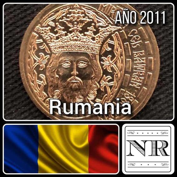 Rumania - 50 Bani - Año 2011 - Km # 260 - Mircea