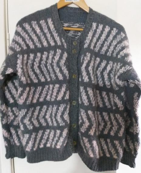 Saco Sweater Lana Gruesa Mujer Abrigado