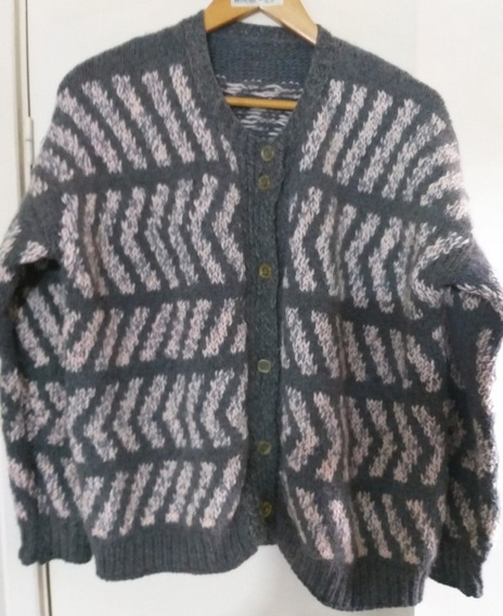 Saco Sweater Lana Gruesa Mujer Abrigado Lage