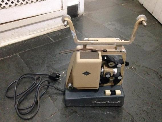 Projetor Agfa 8mm Movector G Ler Tudo Ligando Raro R$395,99