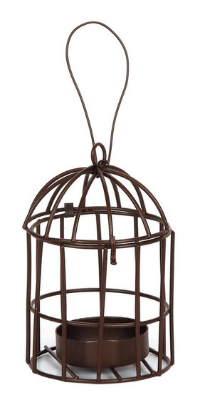 Mini Jaula Para Velita Metal Birdcage Darice