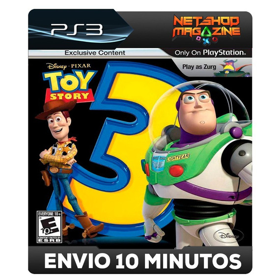 Toy Story 3: The Video Game - Psn Ps3 - Pronta Entrega