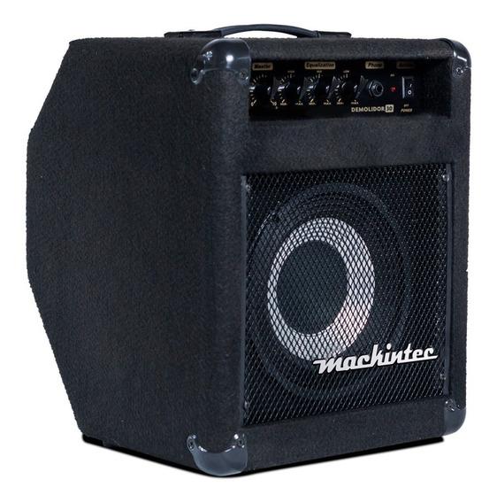 Amplificador Cubo Contra Baixo Mackintec Impact Bass Black