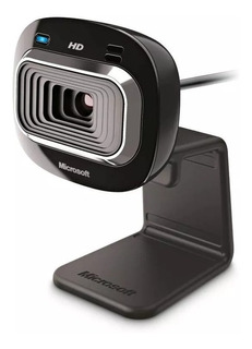 Cámara Web Microsoft Lifecam Hd-3000 Hd 720p, Panorámica