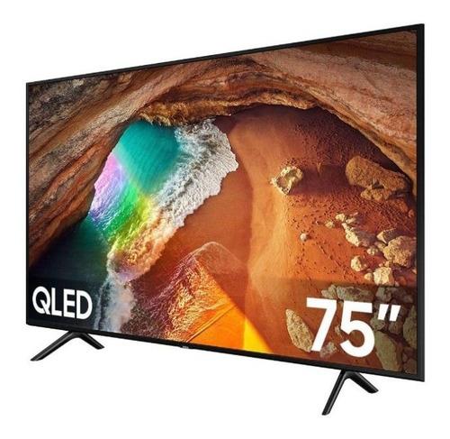 Imagen 1 de 1 de Qn75q60tafxzx Pantalla De 75  Smart Marca Samsung Alb
