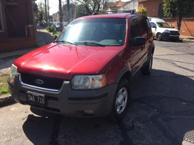 Ford Escape Xls 4x2 2002 Impecable Estado