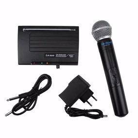 Microfone Sem Fio Leson Mão Ls901 Ht - Loja Kadu Som