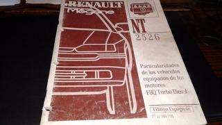 Renault Megane Manual Particularidade Motor F8q Turbo Diesel