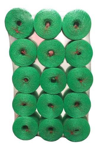 Cordel Multiuso En Bobinas De 1 Kg Color Verde (15 Uds)