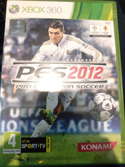 Pes 2012 Xbox 360 Mídia Física