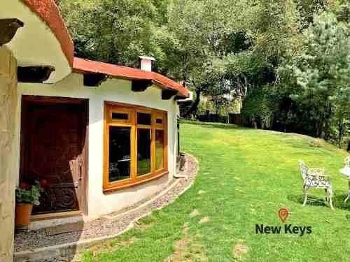 Renta Preciosa Casa En El Desierto De Los Leones, Junto Al Parque Nacional