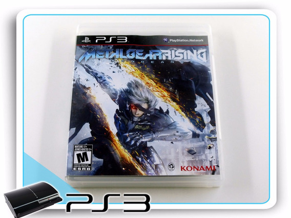 Ps3 Metal Gear Rising Revengeance Original Playstation 3