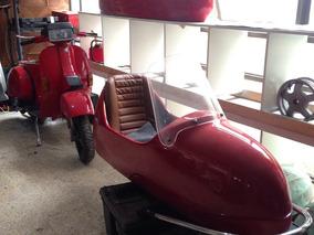 Sidecars Carro Costado Para Vespa Lml Clasica Harley Scooter