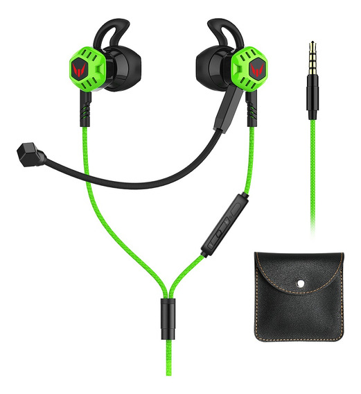 Fones De Ouvido Gamer Microfone Intra-auricular Langsdom G10