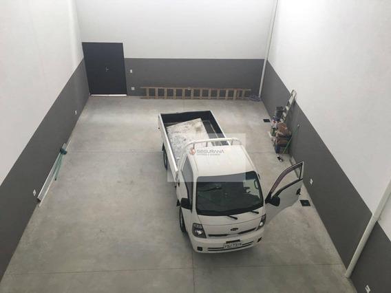 Galpão Novo De 280m² Com Mezanino, Recepção, Cozinha E Energia Trifásica - Ga0001
