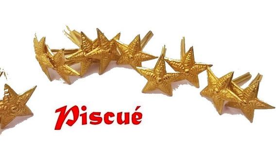 Bomberos!!!!! Estrella De Antigüedad, 5 Puntas,dorada Piscue