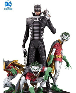 Dc Collectibles The Batman Who Laughs & Robin Minions Statue