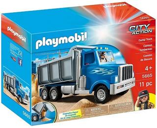 Playmobil 5665 City Action Camion Volcador Original Bigshop