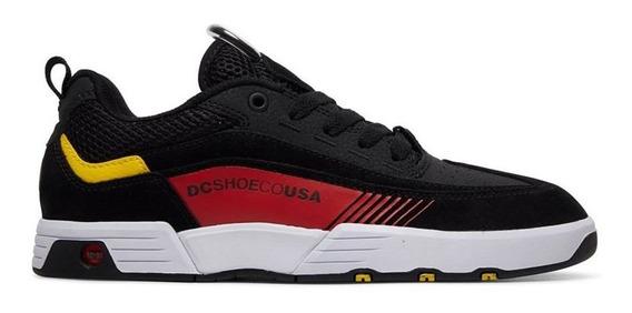 Tênis Dc Shoes Legacy 98 Slim Imp Black Athletic Red White A