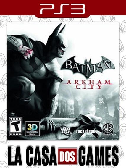 Batman: Arkham City - Psn Ps3 - Envio Imediato