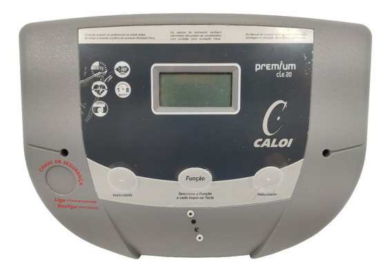Kit Monitor E Chave De Segurança Para Esteira Caloi