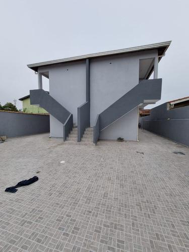 Imagem 1 de 19 de Casa Sobreposta A 500m Da Praia No Jd. Suarão Em Itanhaém - Ca0291