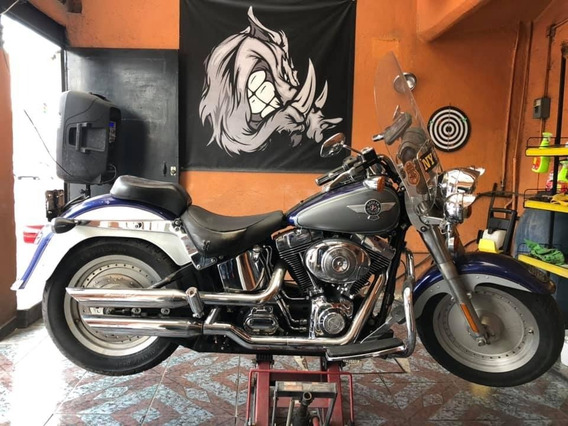 Moto Harley Davidson / Fat-boy Clásica. 2006