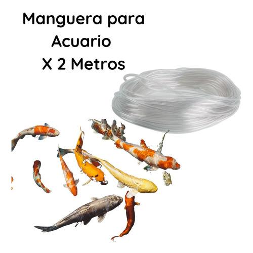 Manguera Para Acuario Transparente Por 2 Metros