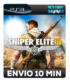 Sniper Elite 3 - Português - Psn Ps3 - Oferta Pronta Entrega