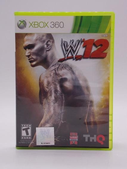 Wwe 12 Xbox 360 Original Mídia Física