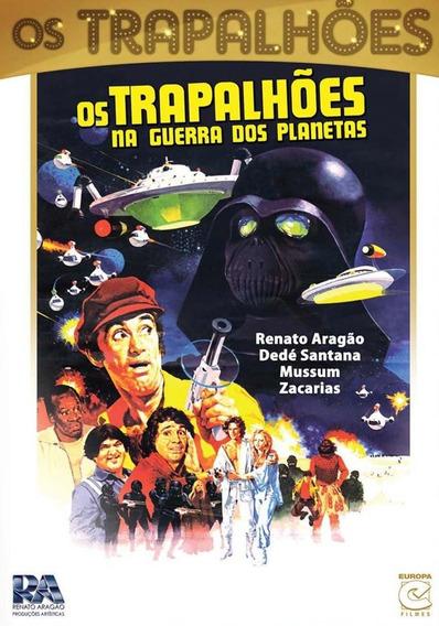 Os Trapalhões Na Guerra Dos Planetas - Dvd - Renato Aragão