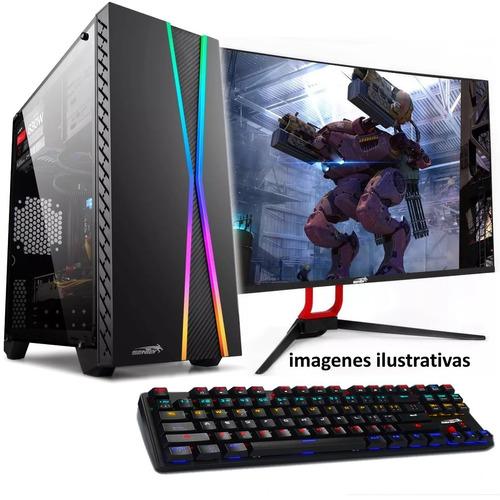 Imagen 1 de 10 de Pc Armada Gamer Intel I7 8700 Ddr4 Nvidia Gtx1050 Ti 4gb Gddr5 Win 10