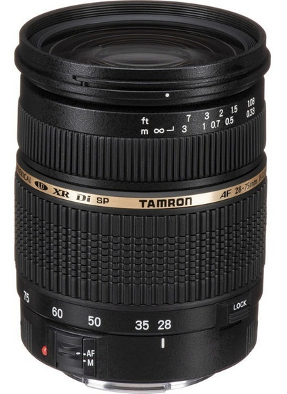 Tamron Canon Af 28-75mm F/2.8 Xr Di Ld 24-70mm