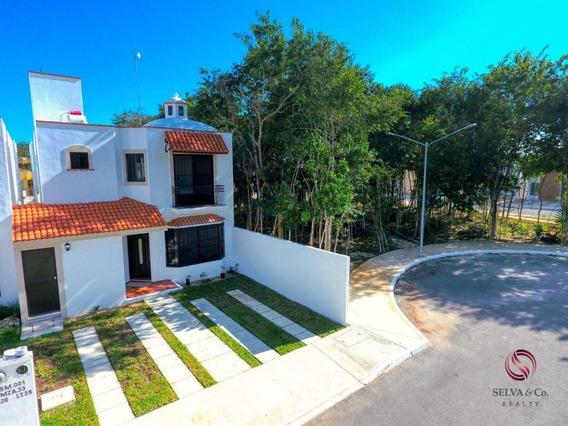 Casa De 3 Recamaras En Playa Del Carmen. Oportunidad De Inv