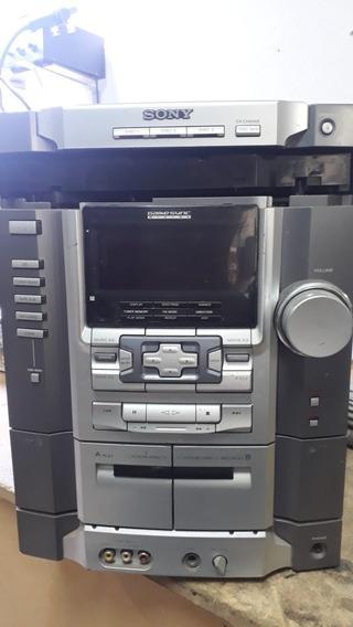 Painel Frontal Hcd-rg66t Completo Com As Placas E Tape