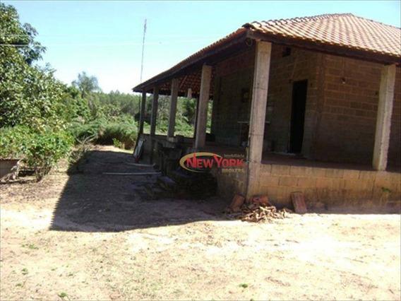 Chácara Com 2 Dormitórios À Venda, 1200 M² Por R$ 180.000,00 - Broa - Itirapina/sp - Ch0017