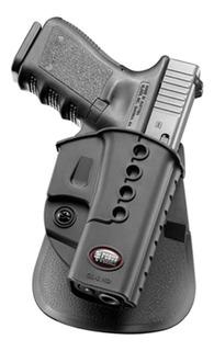 Coldre Rotativo Fobus Paddle De Cinto Gl-2 Nd Rt Para Glock