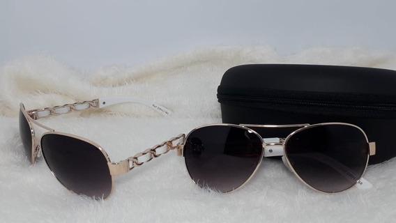 Óculos De Sol Feminino Aviador Barato