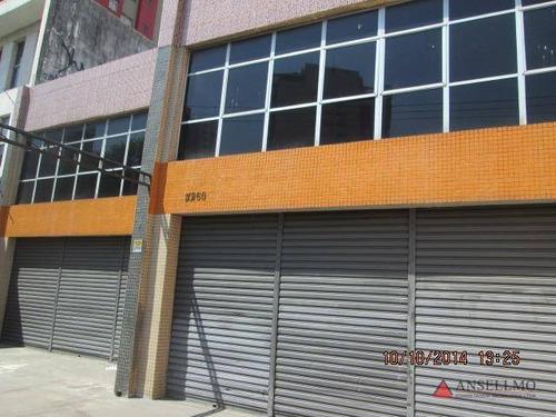 Imagem 1 de 23 de Prédio Para Alugar, 832 M² Por R$ 13.000,00/mês - Rudge Ramos - São Bernardo Do Campo/sp - Pr0024