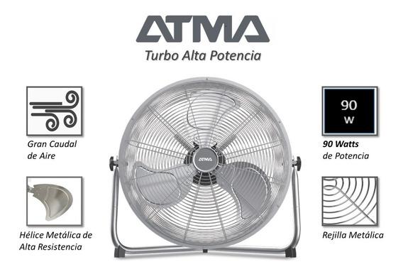 Ventilador Turbocirculador De 20 Atma Vta2018x